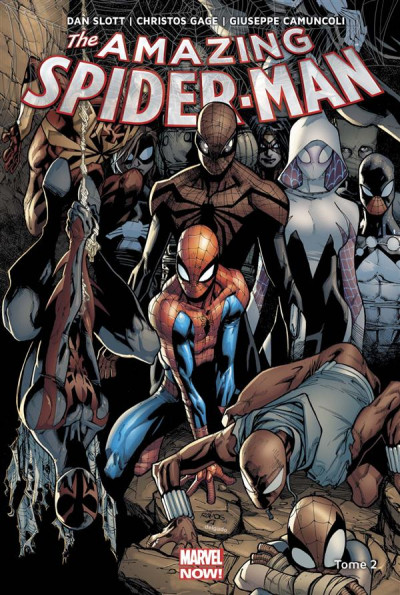 Couverture Amazing Spider-Man tome 2