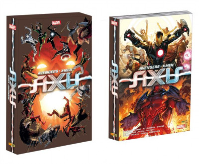 Couverture Avengers & X-Men - Axis