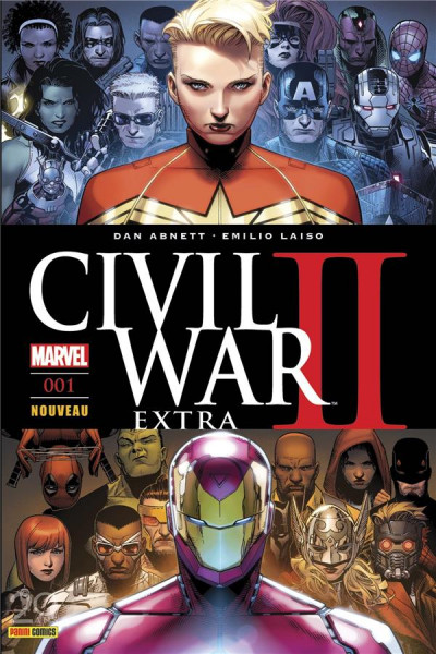 Couverture Civil War II - extra tome 1