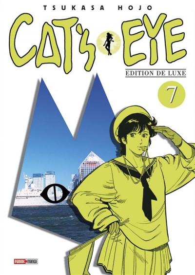 Couverture Cat's eye - édition 2016 tome 7