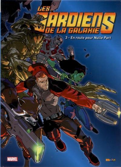 Couverture Les gardiens de la galaxie tome 3