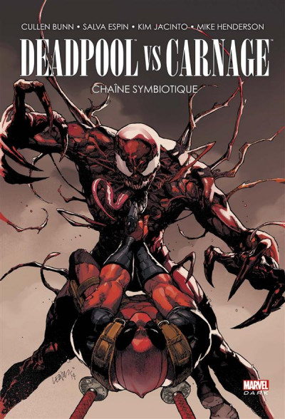 Couverture Deadpool vs Carnage