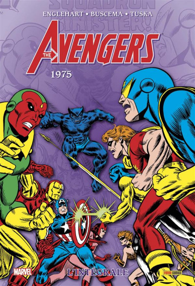 Couverture Avengers - intégrale tome 12 - 1975