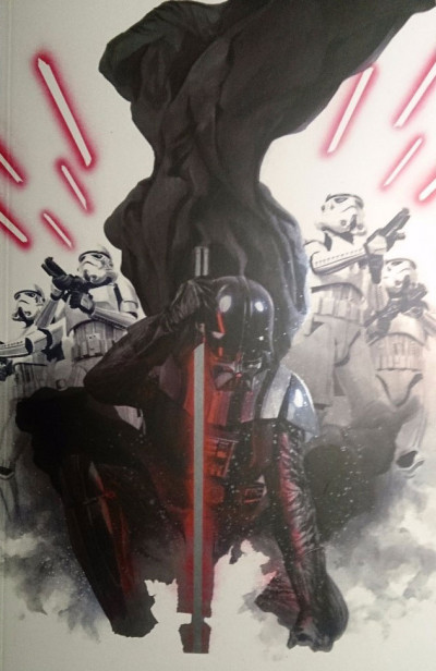 Couverture Star wars fascicule tome 5 - Cover collector Angoulême