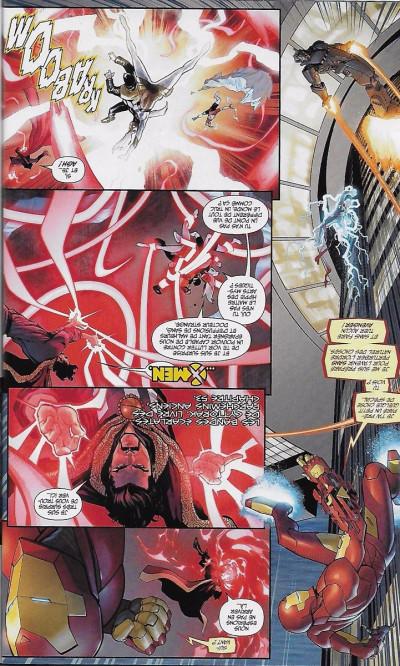 Page 1 Civil War II tome 3 - cover exclusive Excalibur comics