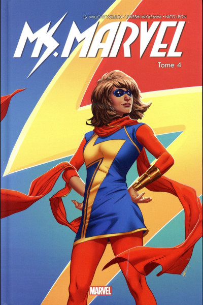 Couverture Ms. Marvel tome 4