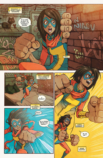 Page 6 Ms. Marvel tome 4