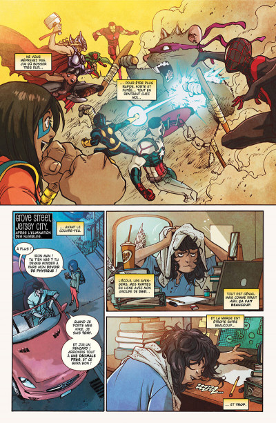 Page 9 Ms. Marvel tome 4