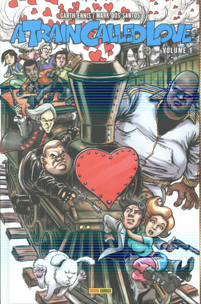 Couverture A train called love tome 1