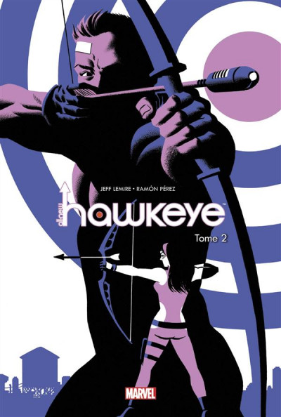 Couverture All-New Hawkeye tome 2