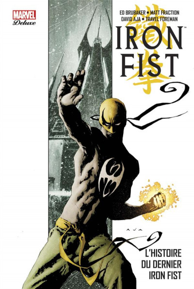 Couverture Iron Fist - deluxe tome 1