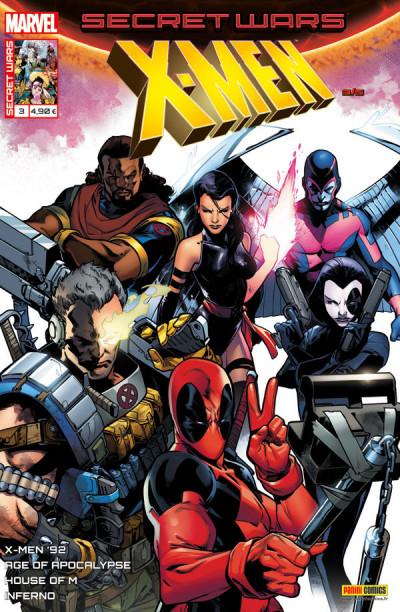 Couverture Secret wars : X-Men tome 3