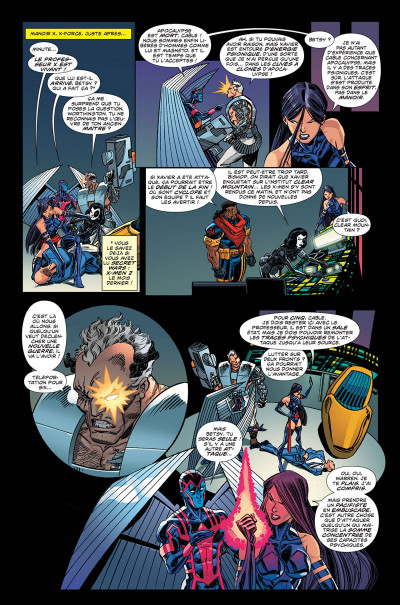 Page 1 Secret wars : X-Men tome 3