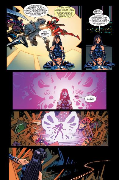 Page 2 Secret wars : X-Men tome 3