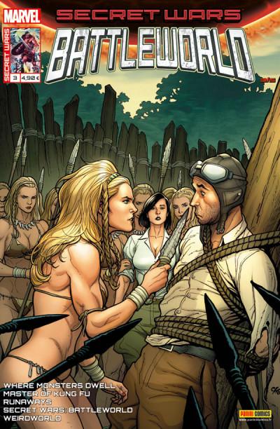 Couverture Secret wars : Battleworld tome 3