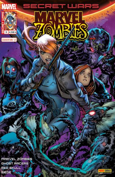 Couverture Secret wars : Marvel zombies tome 3 - Cover 1/2 Lashley