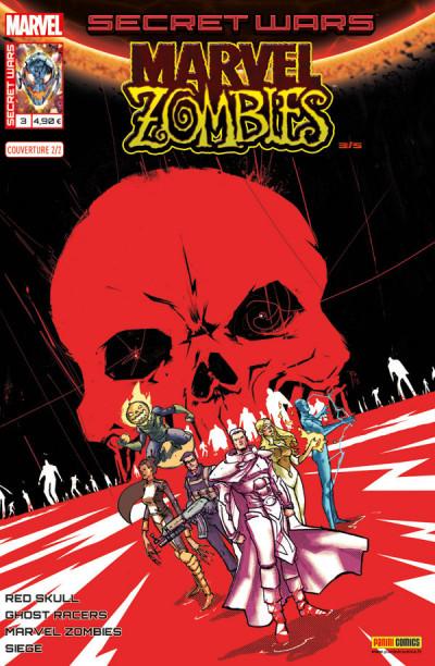 Couverture Secret wars : Marvel zombies tome 3 - Cover 2/2 de Rossmo