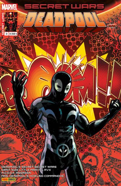 Couverture Secret wars : Deadpool tome 3