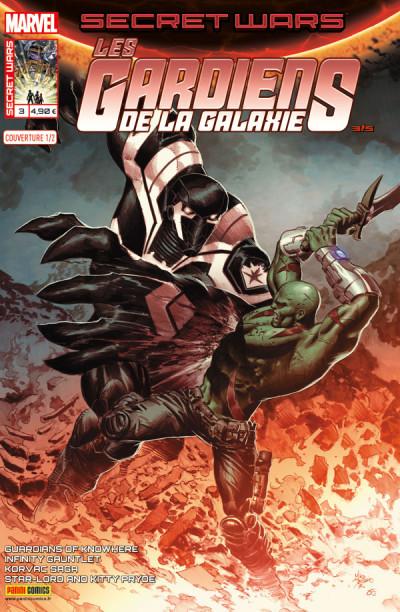 Couverture Secret wars : Les gardiens de la galaxie tome 3 - Cover 1/2 de Deodato Jr