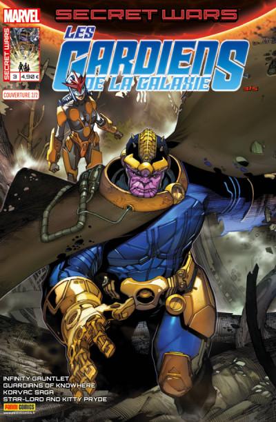 Couverture Secret wars : Les gardiens de la galaxie tome 3 - Cover 2/2 de Bianchi