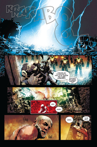 Page 1 Secret wars : Old Man Logan tome 3
