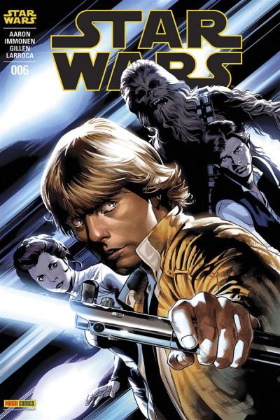 Couverture Star wars fascicule tome 6 - Cover 1/2 par Immonen