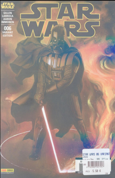 Couverture Star wars fascicule tome 6 - Cover 2/2 par Granov