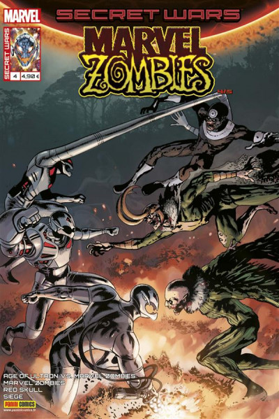 Couverture Secret wars : Marvel zombies tome 4