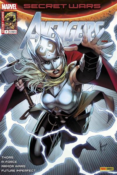 Couverture Secret wars : Avengers tome 4