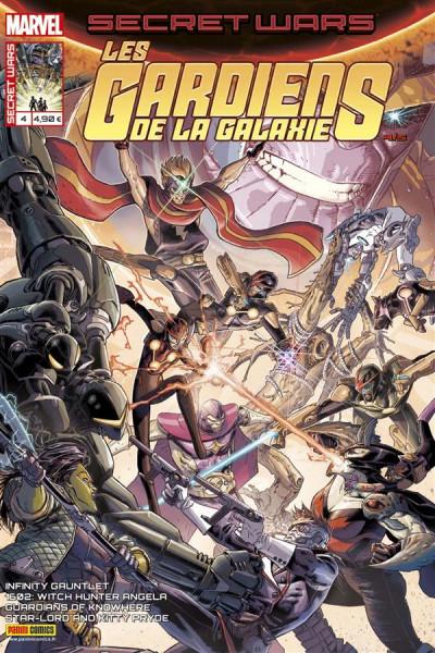 Couverture Secret wars : Les gardiens de la galaxie tome 4