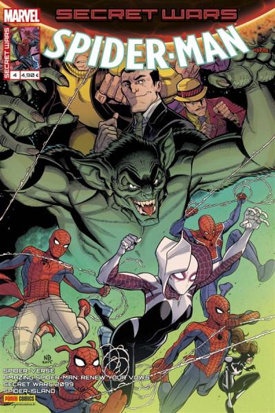 Couverture Secret wars : Spider-Man tome 4