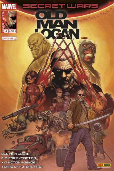 Couverture Secret wars : Old Man Logan tome 4 - Cover 2/2 Mc Niven