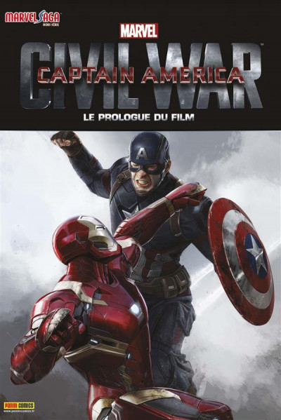 Couverture Marvel Saga HS tome 8 - Captain America : Civil war prologue du film
