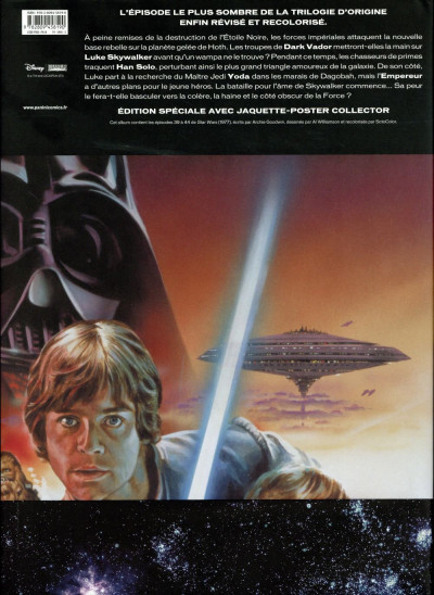 Dos Star Wars épisode V - L'Empire contre-attaque