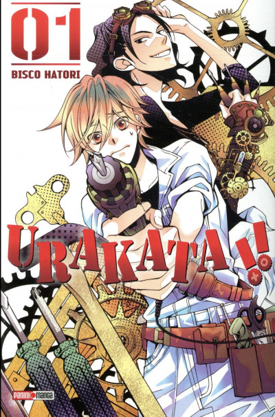 Couverture Urakata tome 1
