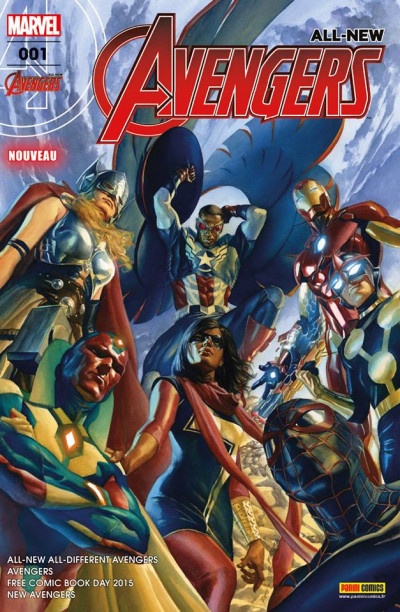 Couverture All-new Avengers tome 1