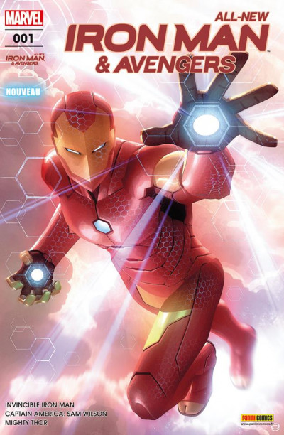 Couverture All-new Iron Man & the Avengers tome 1