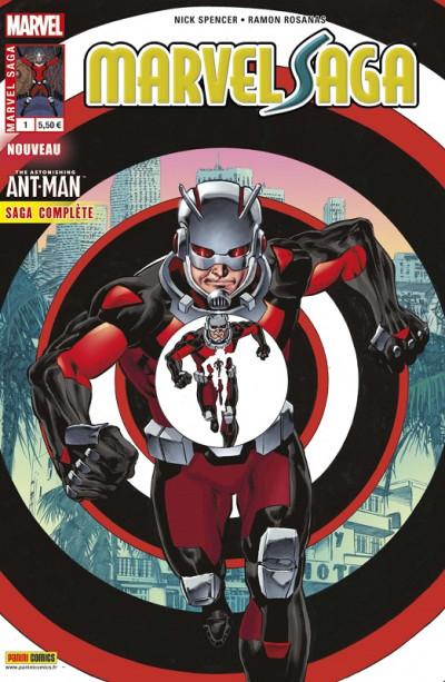 Couverture Marvel saga (3ème série) tome 1