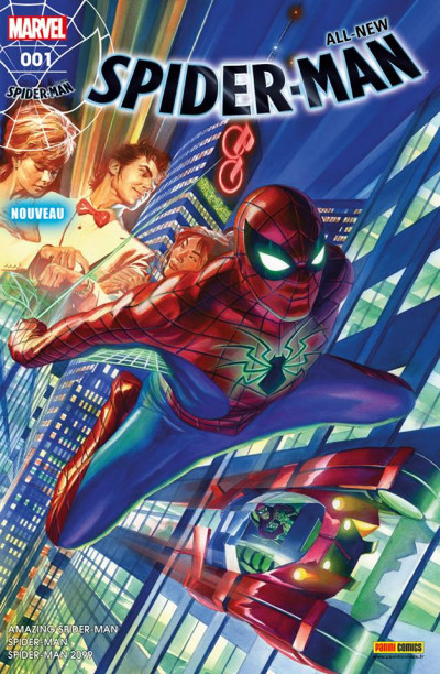 Couverture All-new Spider-Man tome 1