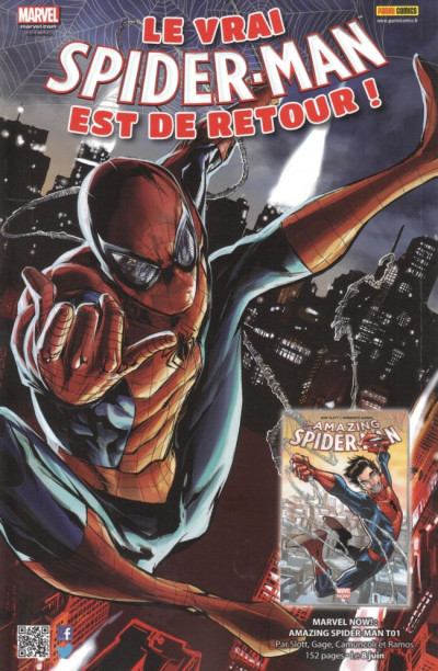 Dos All-new Spider-Man tome 1