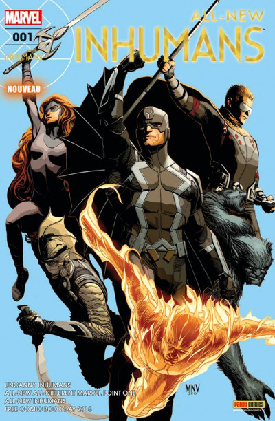 Couverture All-New Inhumans tome 1