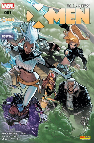 Couverture All-new X-Men tome 1