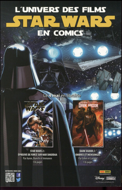 Dos Star Wars HS tome 1 - cover 1/2