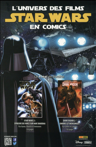 Dos Star Wars HS tome 1 - cover 2/2