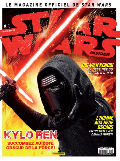 Couverture Star Wars insider tome 7 - cover 2/2