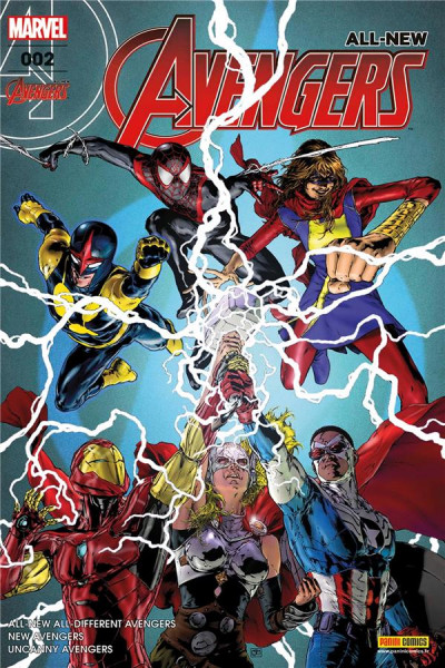 Couverture All-New Avengers tome 2