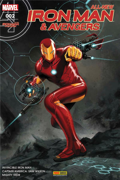 Couverture All-New Iron Man & the Avengers tome 2