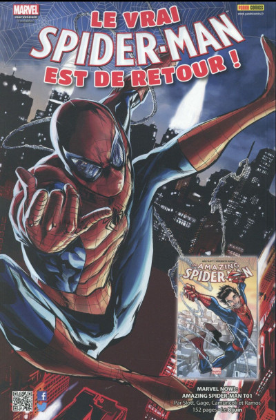 Dos Marvel Classic tome 6