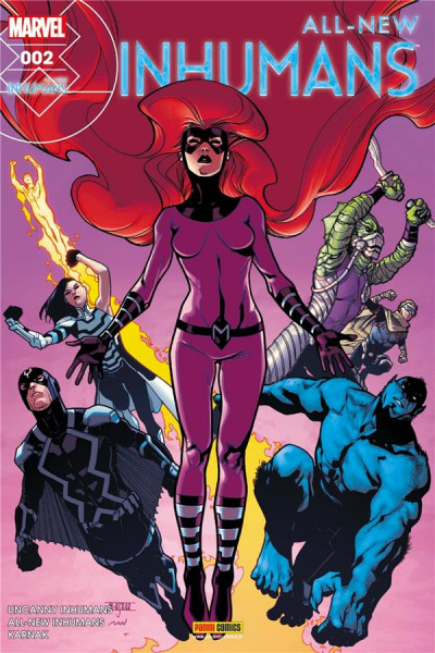 Couverture All-New Inhumans tome 2
