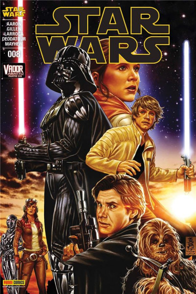 Couverture Star Wars fascicule tome 8 - cover 1/2